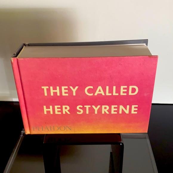"""ED RUSCHA """"THEY CALL HER STYRENE"""""""